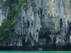 Koh Yao birds nest cliffs